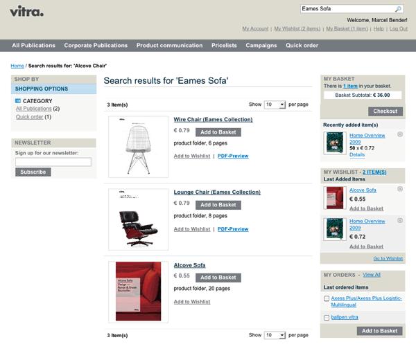 dg medien vitra werbemittel online shop. Black Bedroom Furniture Sets. Home Design Ideas